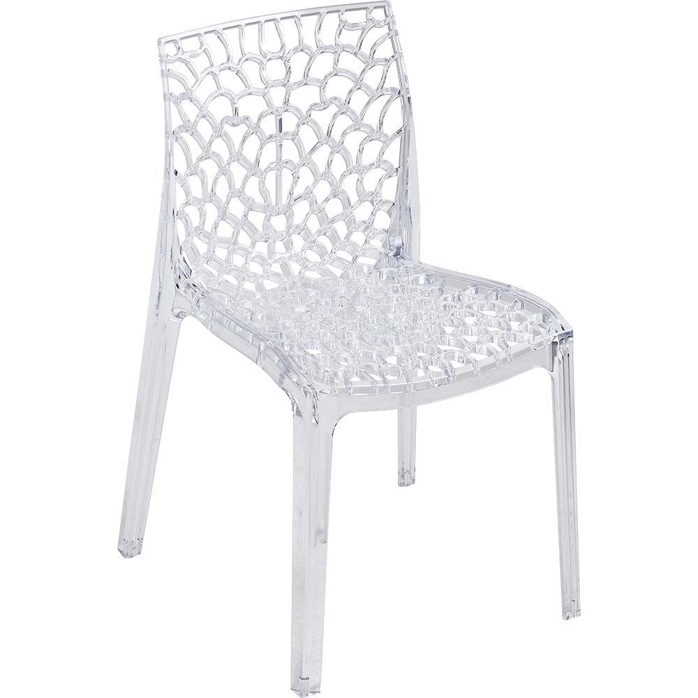 Chaise transparente chris une chaise au design original - Chaise polycarbonate transparent ...