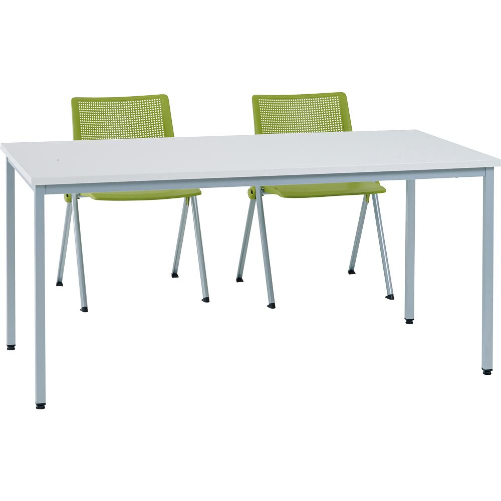 Sitek - Table poly gris 180×80