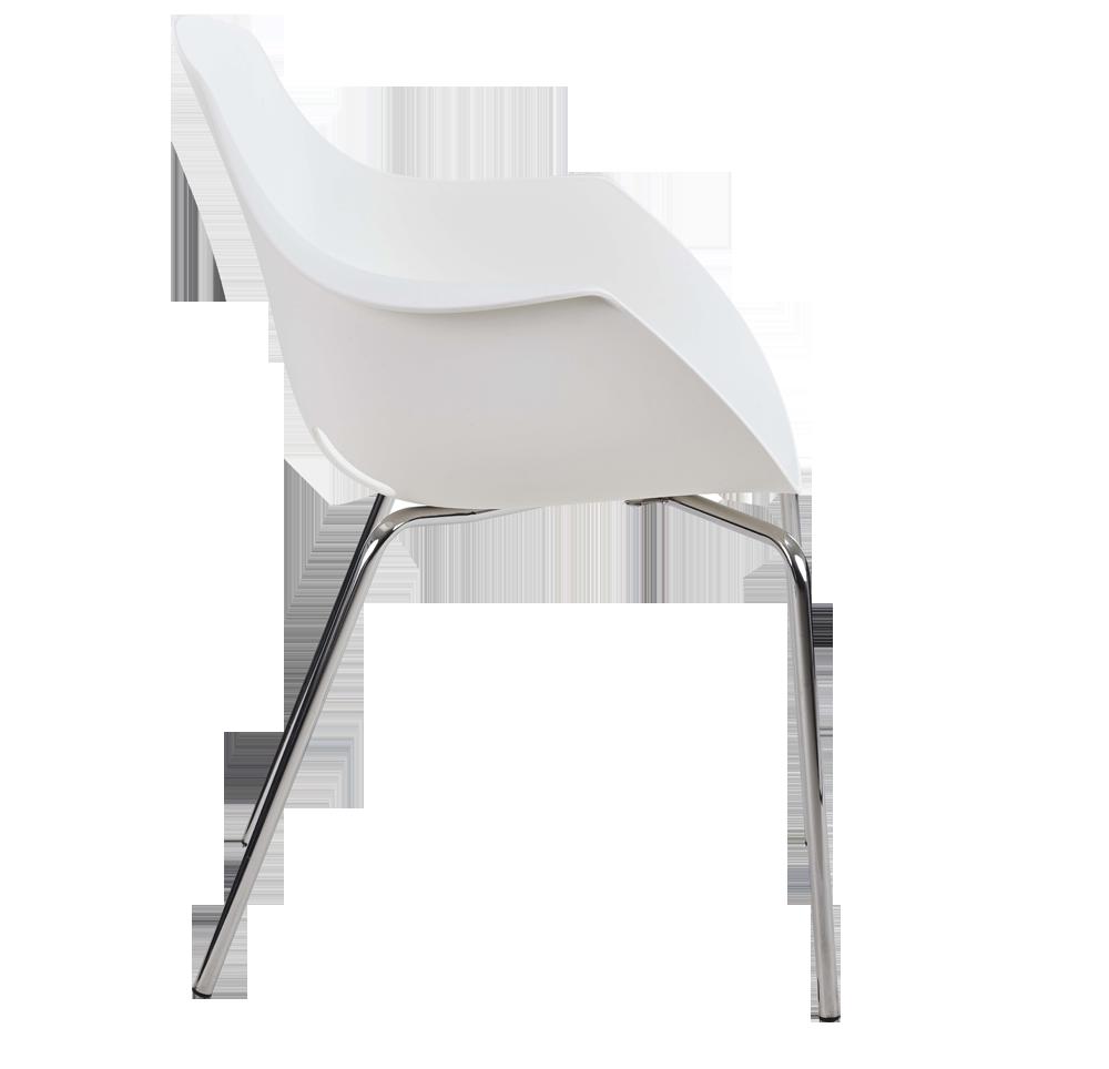 Sitek - Mahé chrome legs