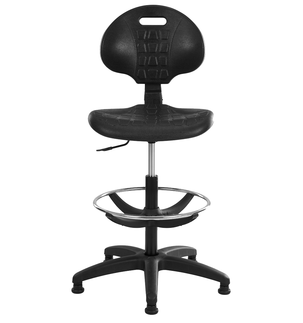 Tabouret Léo, un siège technique haut spécial pour votre atelier