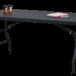 Table light 153 x 76 noir