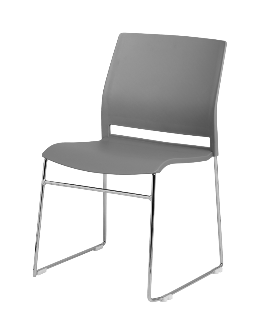 Seats in polypropylene and polycarbonate